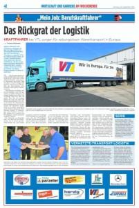 Das Rückgrat der Logistik