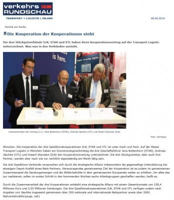 Bautagebuch Die Kooperation der Kooperationen steht