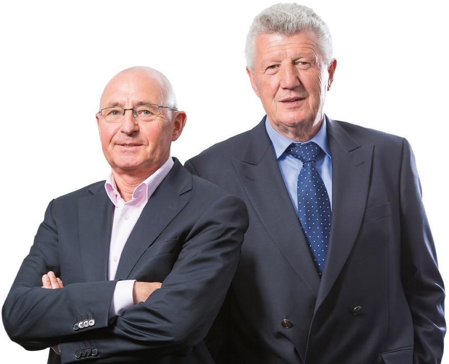 Andreas Jäschke, Geschäftsführer VTL und Hubert Staroske, Geschäftsführer ILN