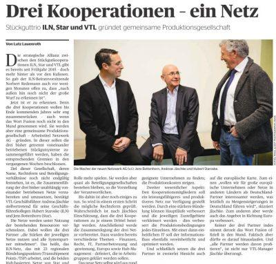 Bautagebuch Drei Kooperationen – ein Netz
