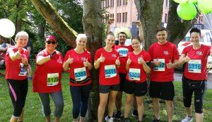 VTL Mitarbeiter beim Challenge Lauf 2018 in Fulda