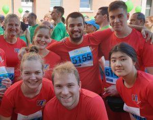 VTL Mitarbeiter bei Challenge Lauf 2019 in Fulda