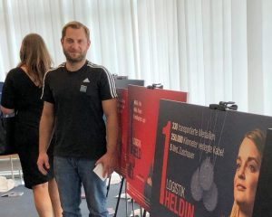 Michael Furdzik bei Logistikhelden Kick-off Veranstaltung in München
